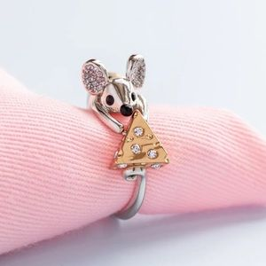 Kate Spade Cheesy Mouse Ring